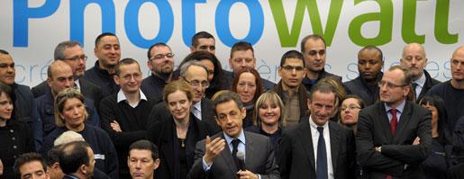 Sarkozy, PhotoWatt, Lyon, Rue89Lyon